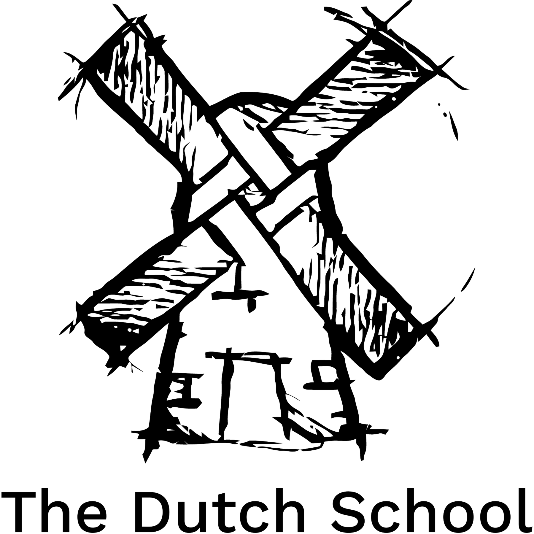 January clipart black and white. Stichting the dutch school