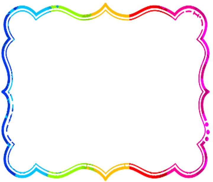 January clipart borders. Free birthday and frames