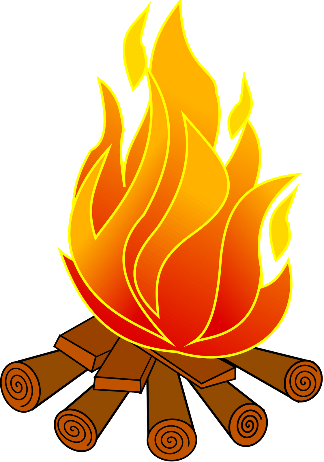 smores clipart camp fire flame #143374789