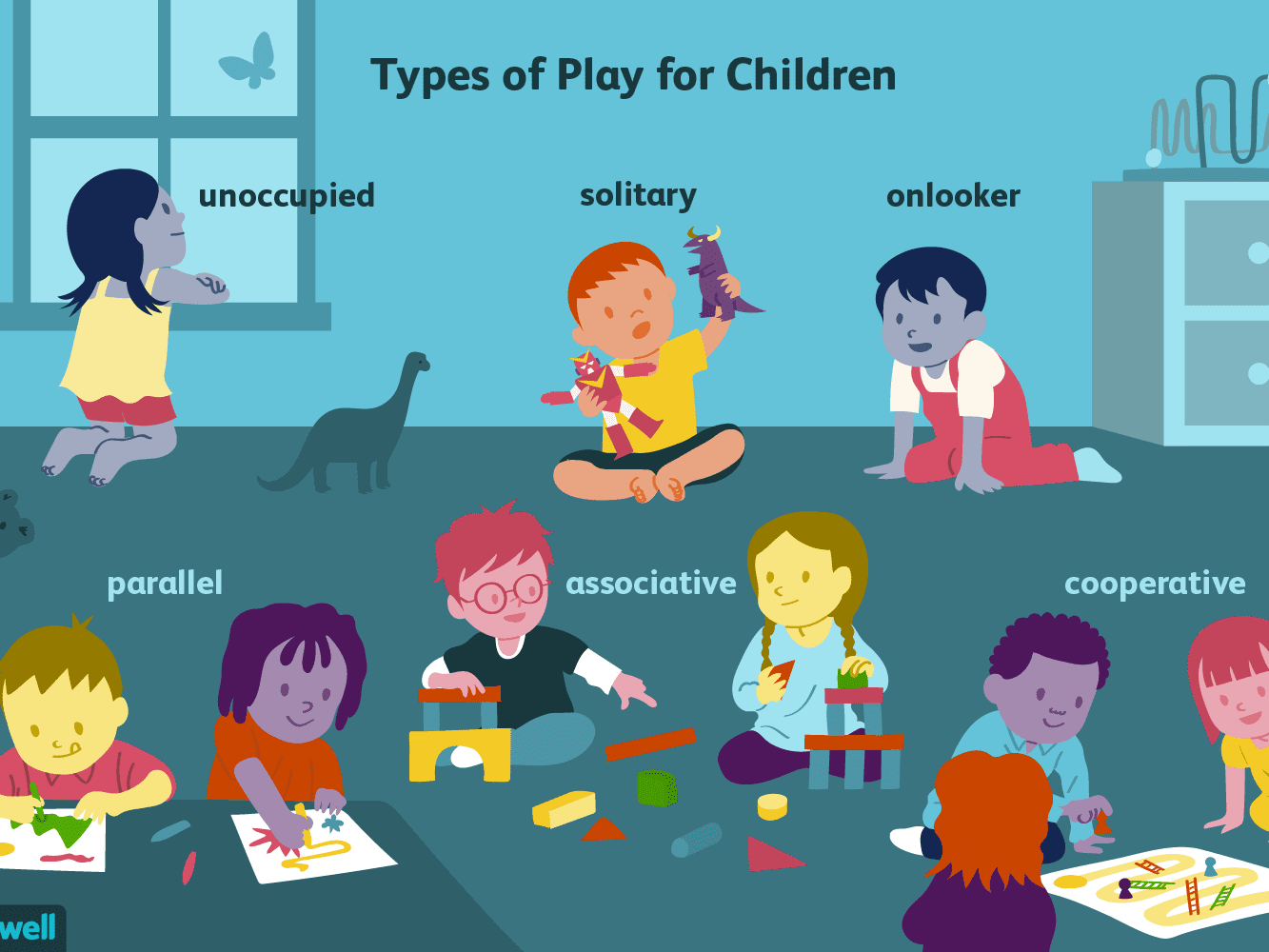 January clipart childhood day. Important types of play