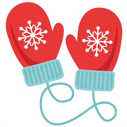 Freebie of the day. January clipart cozy
