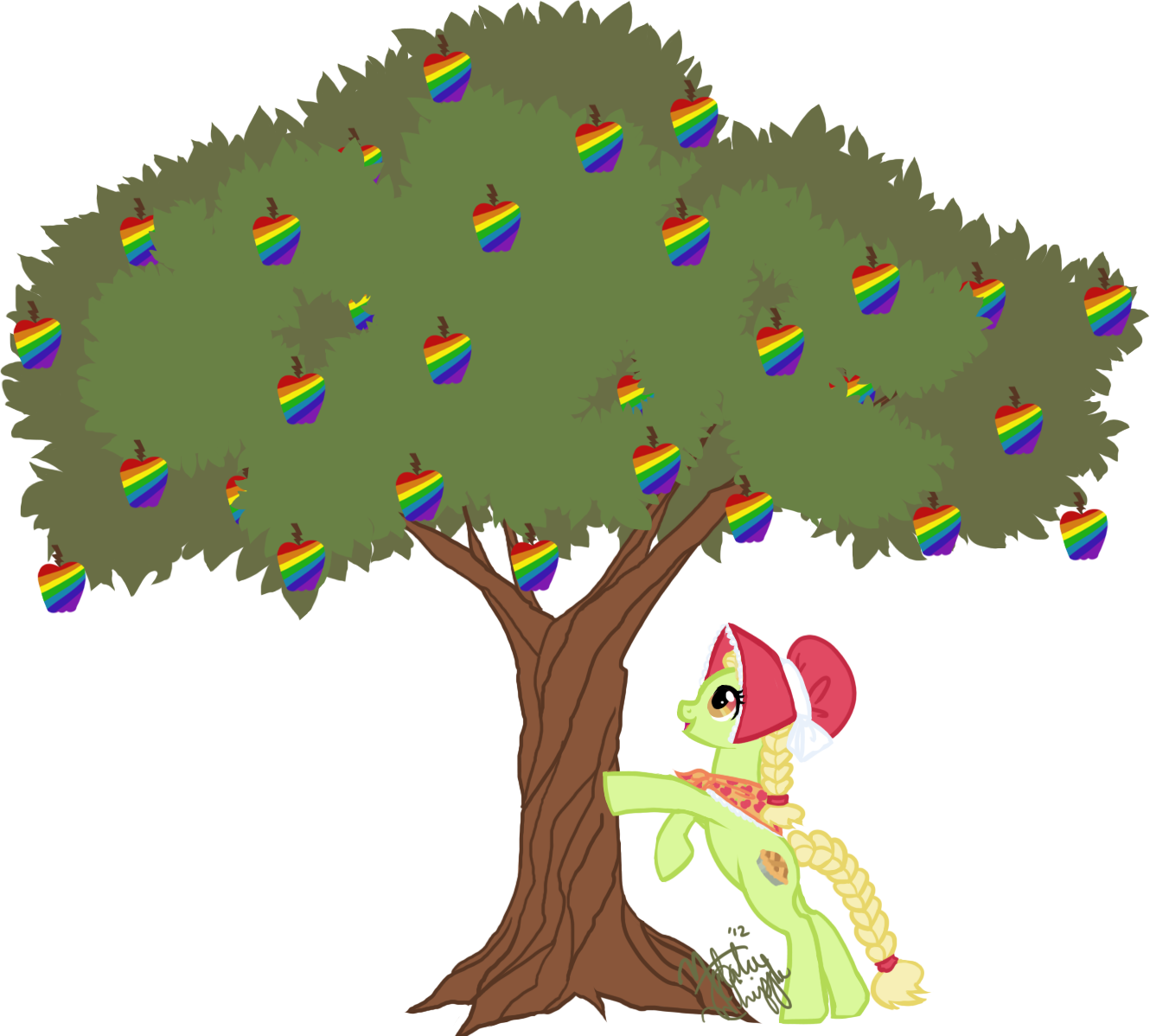 January clipart frozen tree. Image gay fruit png