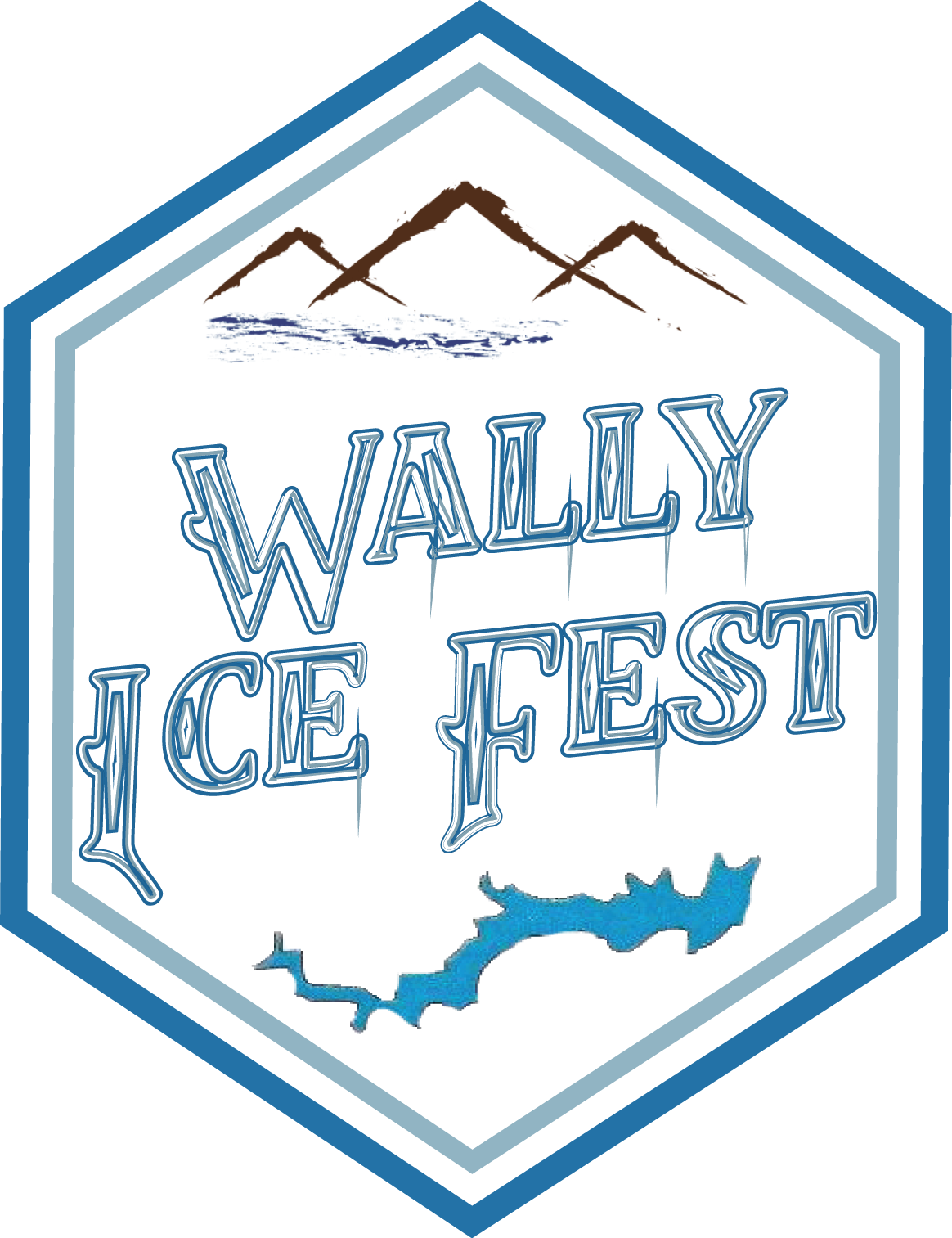 Winter clipart festival. Wally ice fest the
