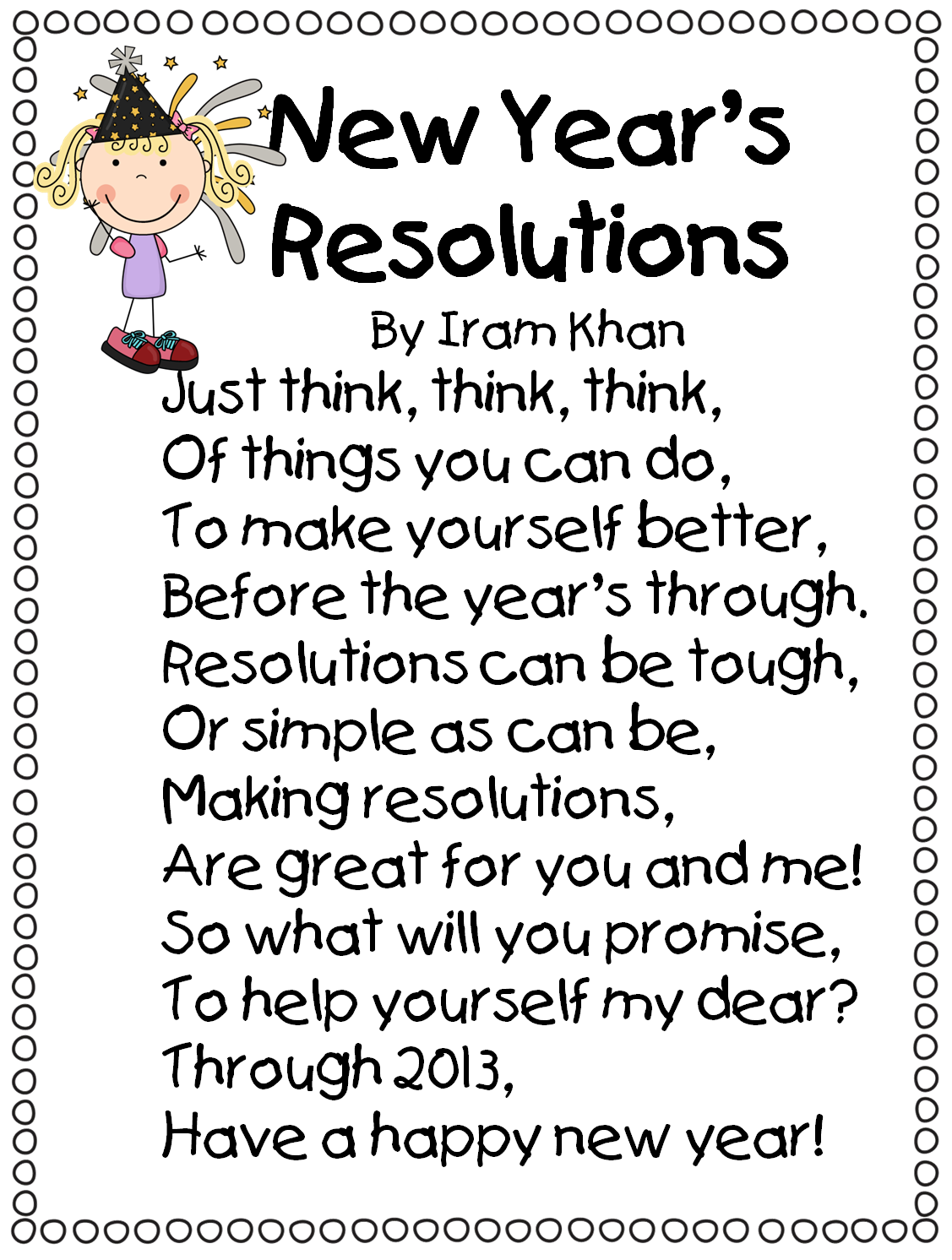 First grade wow happy. Poetry clipart bubble letter