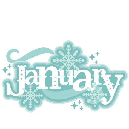 Pin on c l. January clipart title