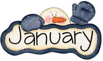 January clipart vacation. Clip art clipartandscrap