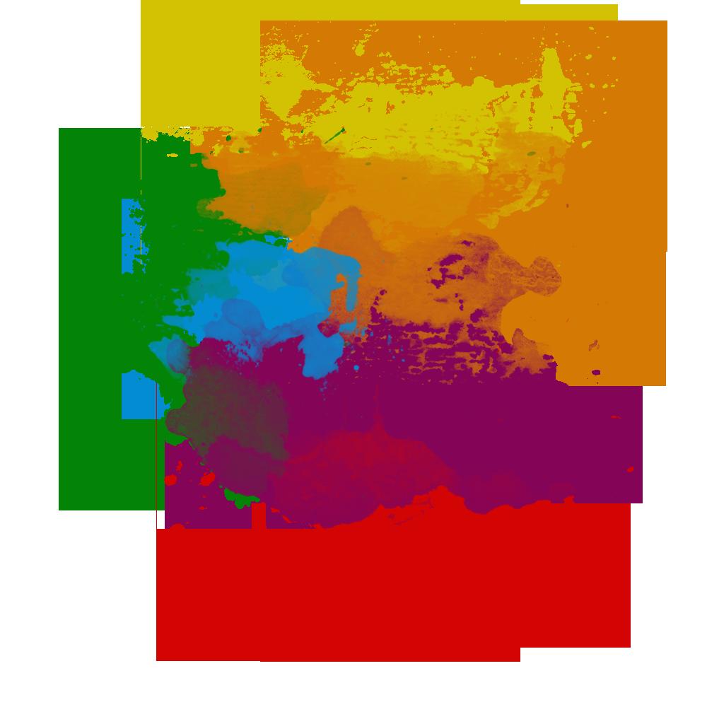 Image paint splatter png. January clipart watercolor