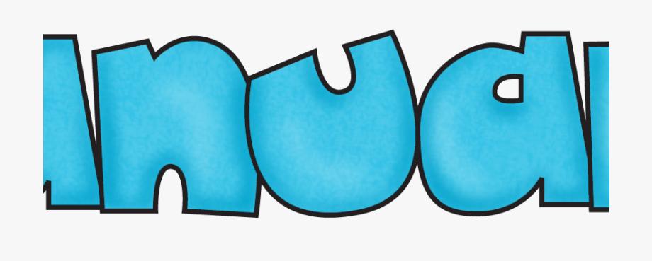 January clipart word. Clip art cliparts cartoons