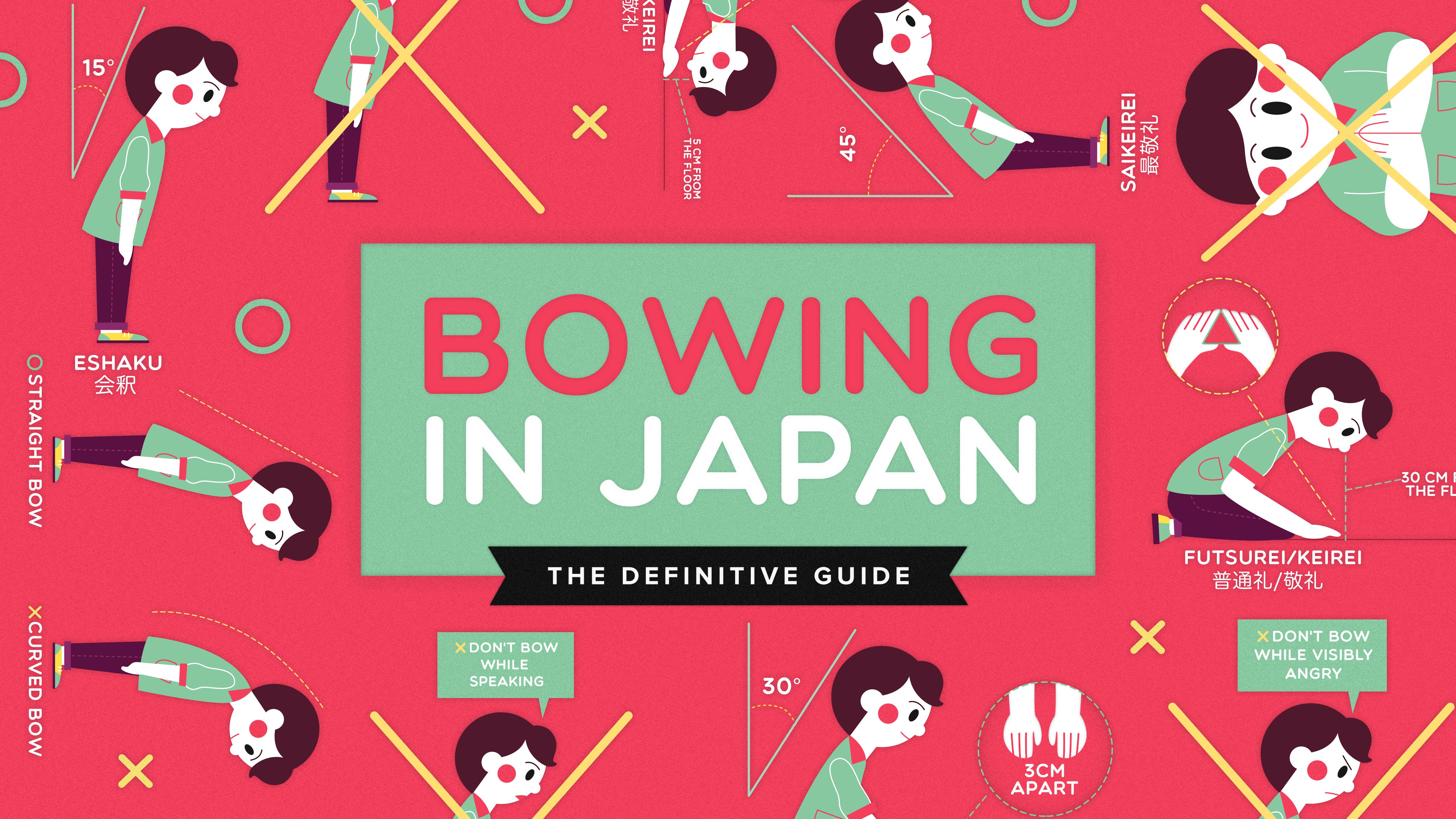 Japan clipart bow japanese. Bowing in life the