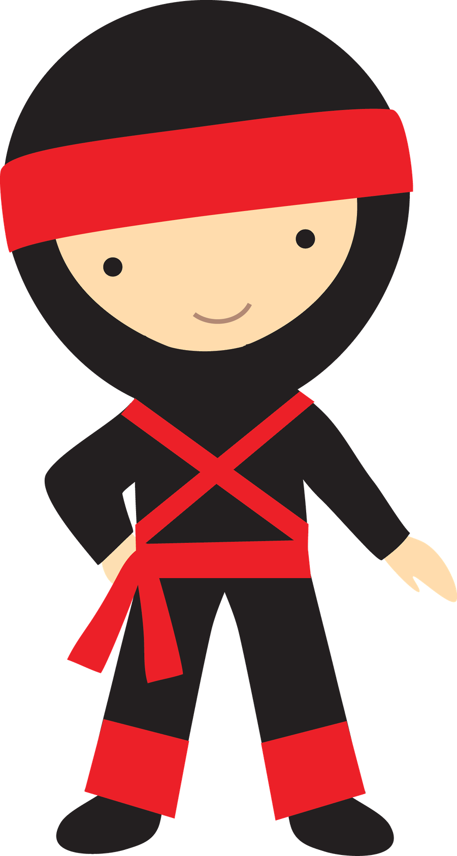 Personagens minus an idea. Japanese clipart ninja