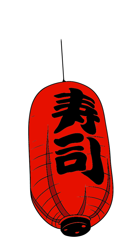 Culture of japan sushi. Japanese clipart red lantern