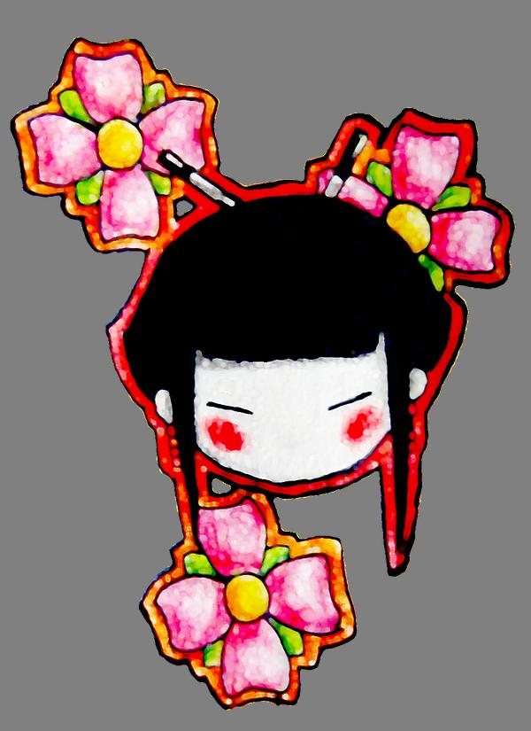 By eca flip on. Japan clipart geisha japan