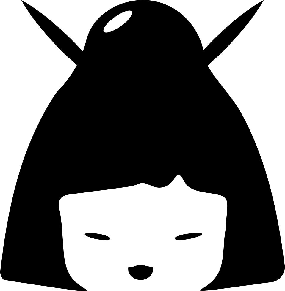 Japanese svg png icon. Japan clipart geisha japan