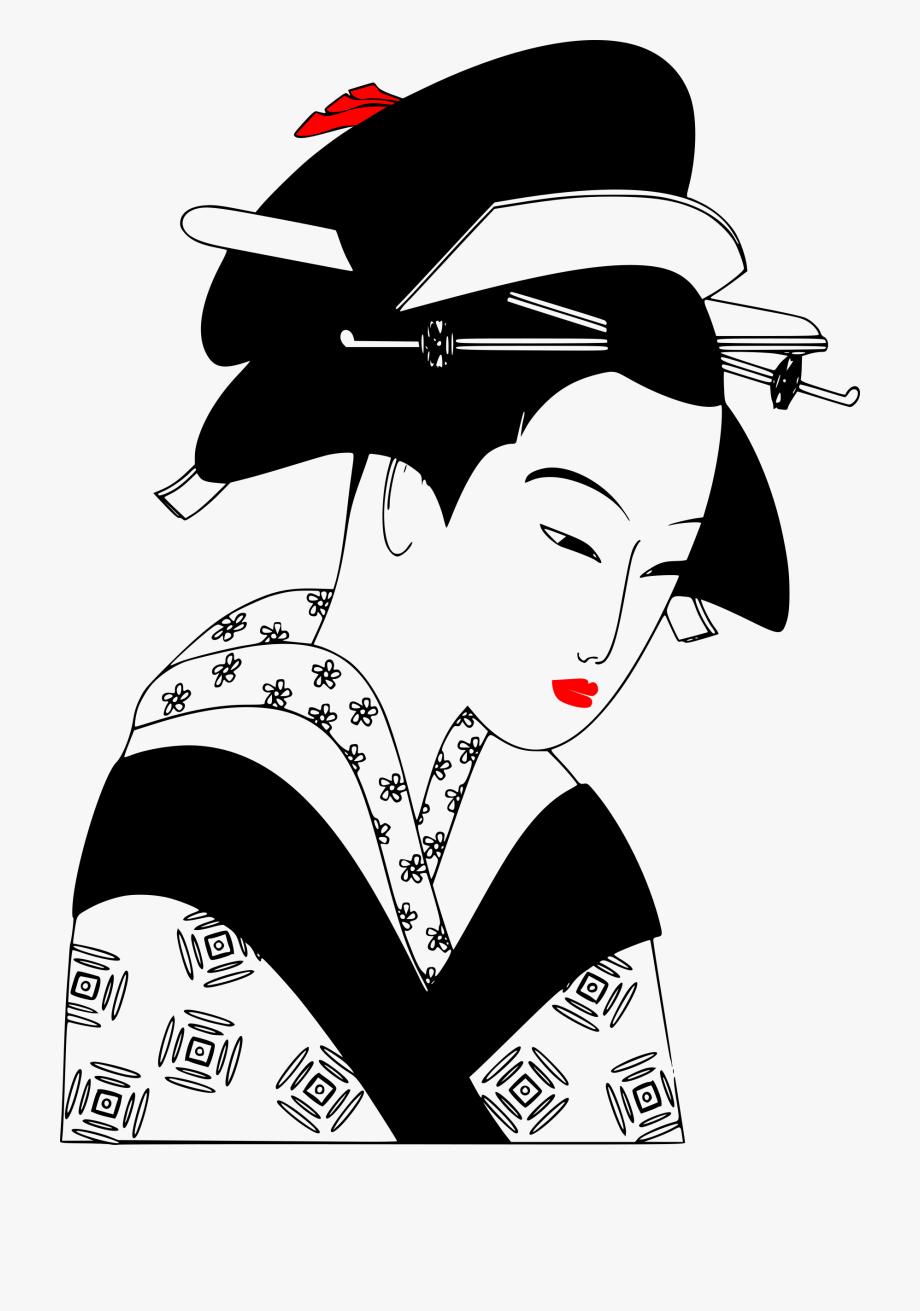 Japan clipart geisha japan. Japanese png free