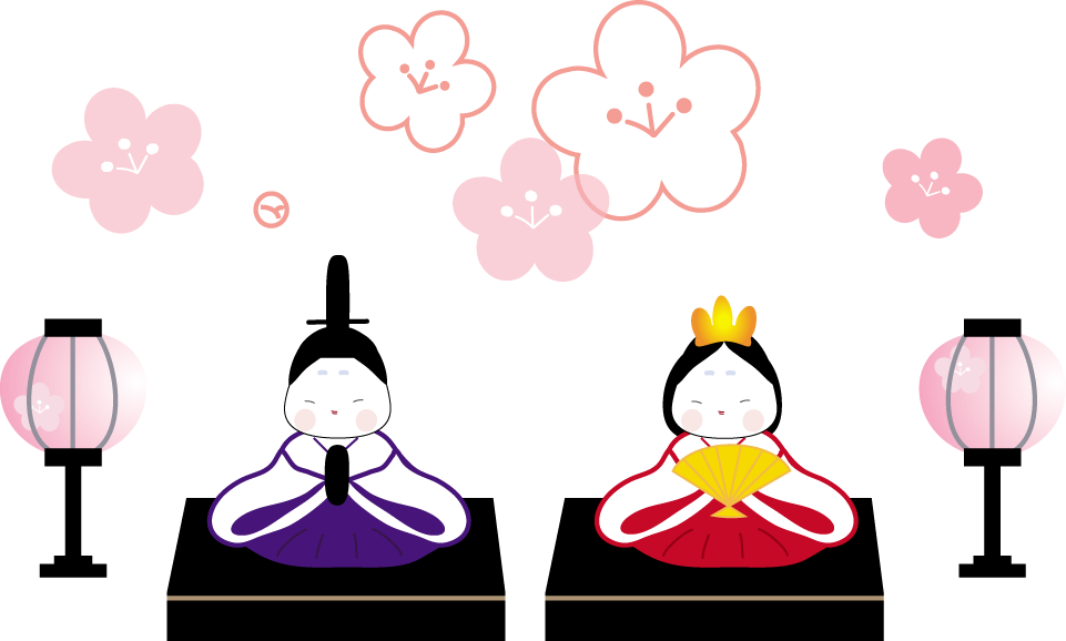 March holidays in published. Japan clipart hinamatsuri
