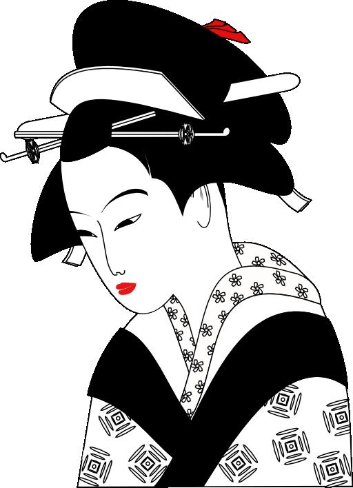 I free public domain. Japanese clipart royalty