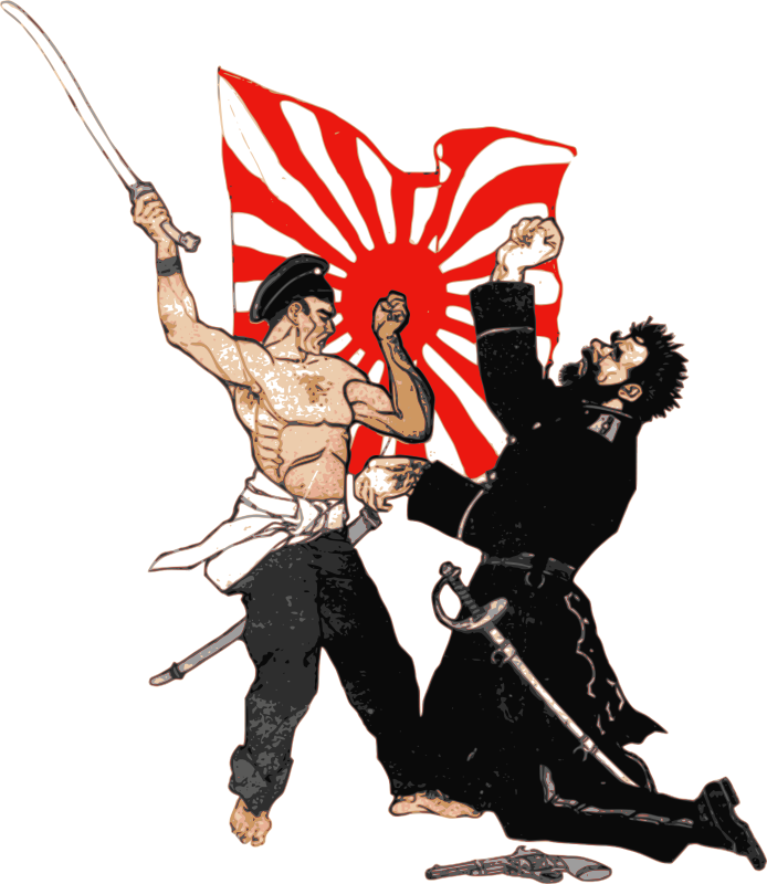 Free russo war combatants. Japanese clipart person japan