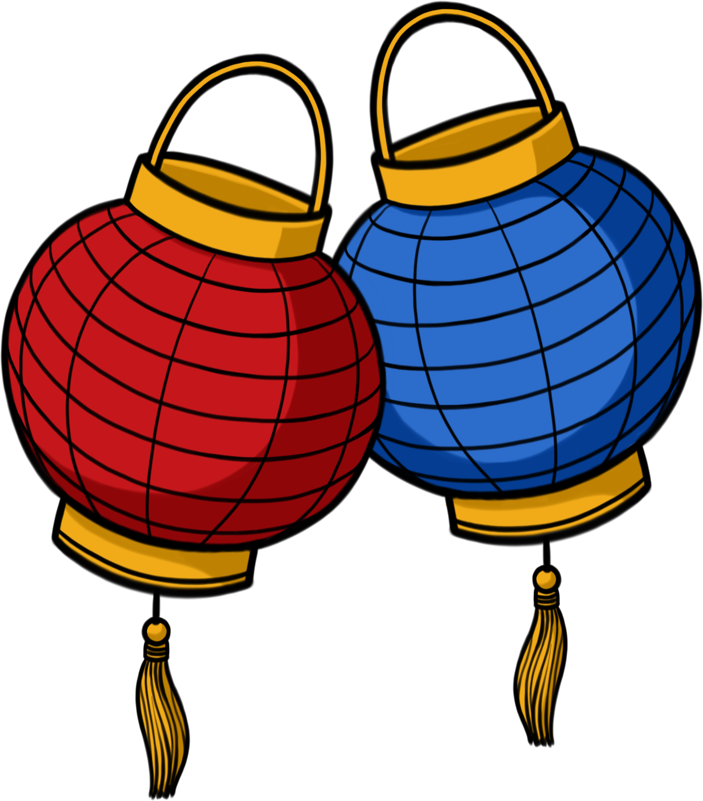 Learn some new words. Japanese clipart red lantern