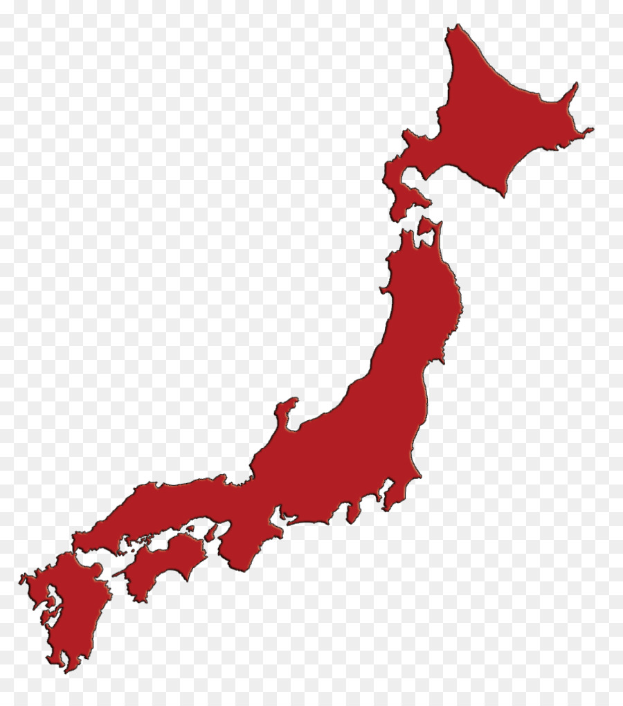 Japan clipart map japan. World tree red transparent