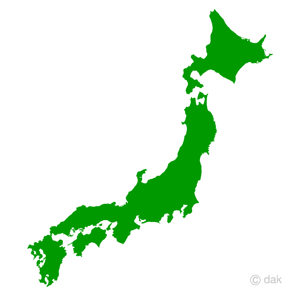 Free picture illustoon . Japanese clipart map japan