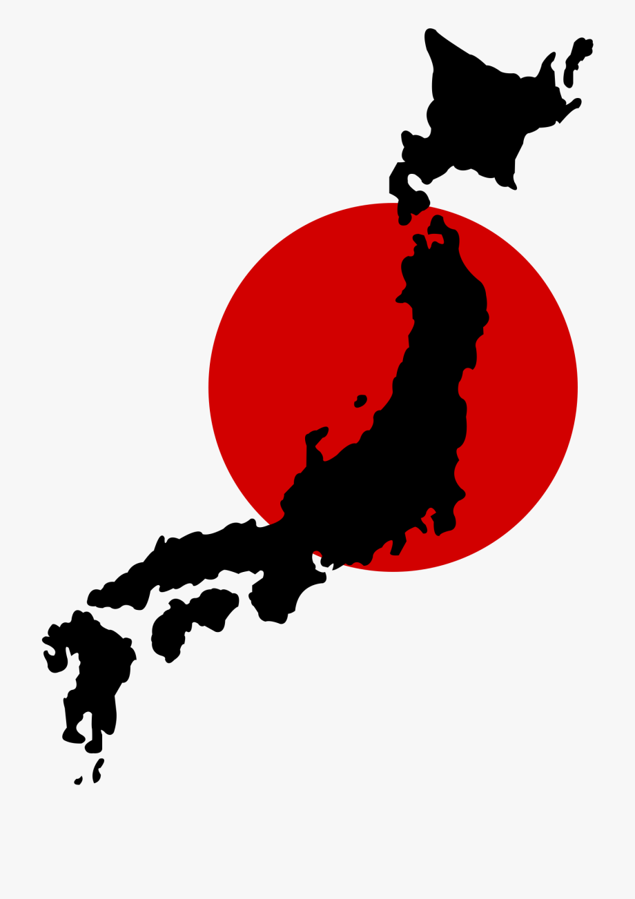 Japanese clipart map japan. Japangraphic icon png free