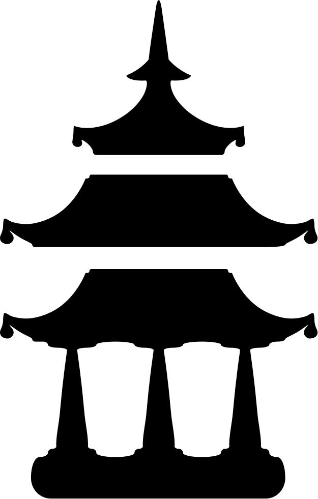 Japan pagoda png