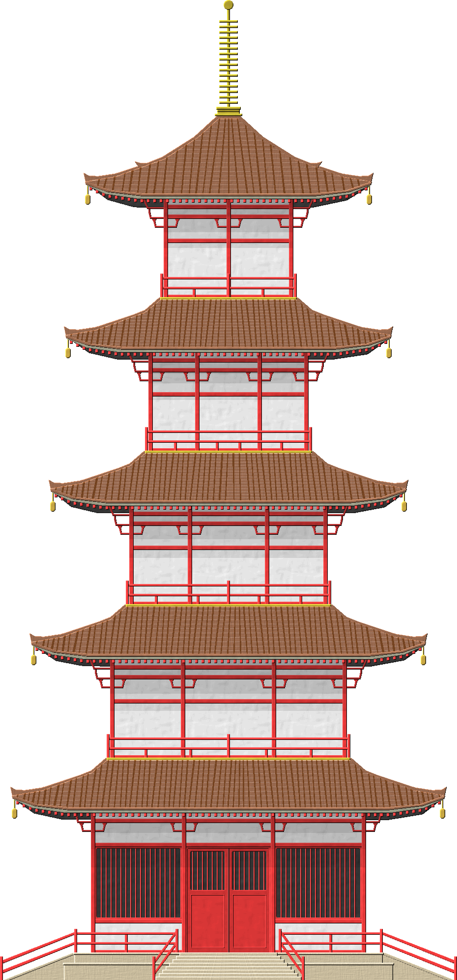 Palace clipart pagoda chinese. Japanese by herbertrocha deviantart