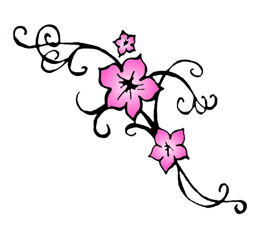 Japanese clipart peach blossom. Cherry drawing outline at