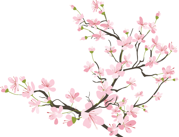 Japanese clipart japan cherry blossom. Drawing tumblr at getdrawings