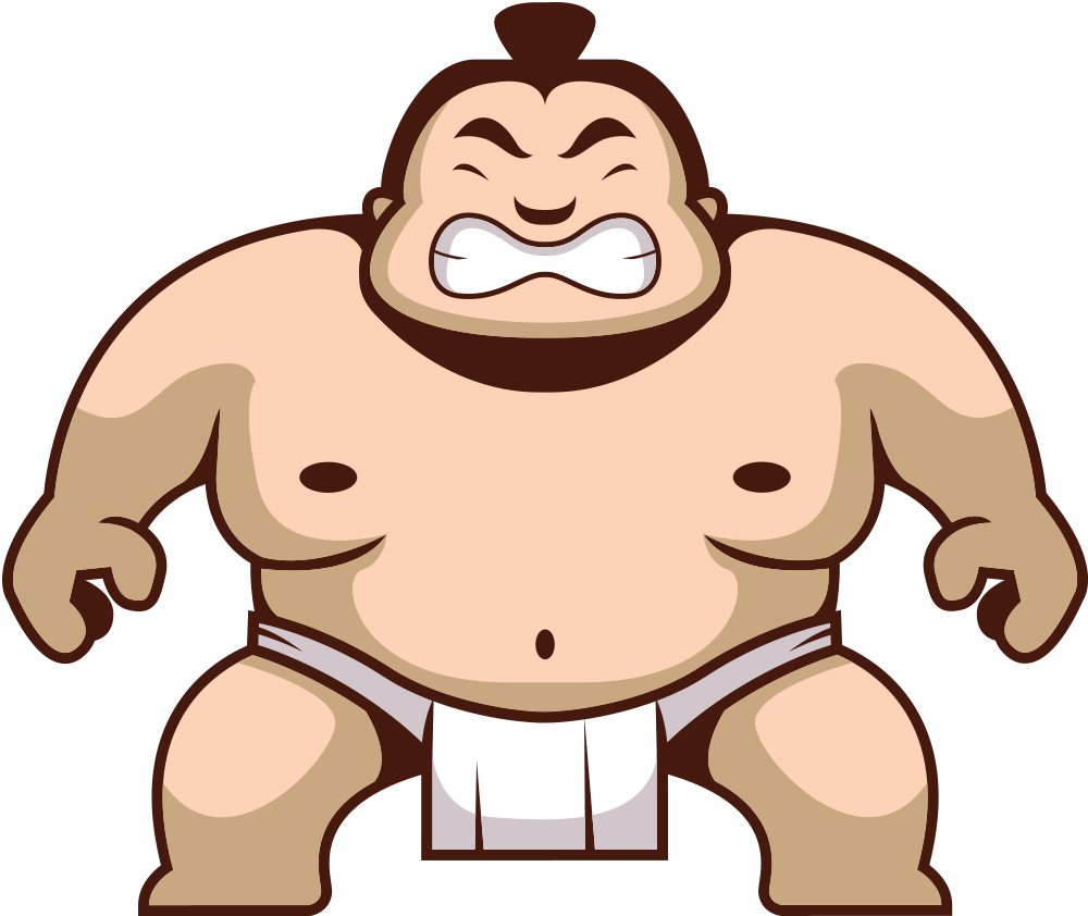 Wrestlers clipart sumo wrestler. Png images free download