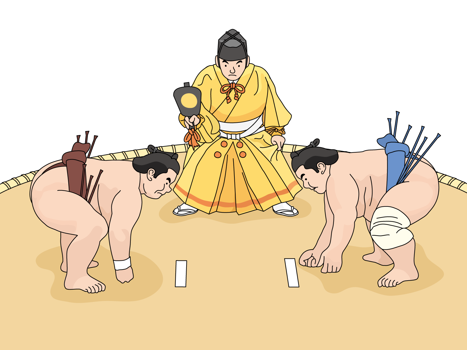 Wrestlers clipart sumo wrestler. Tournament and ticket purchase