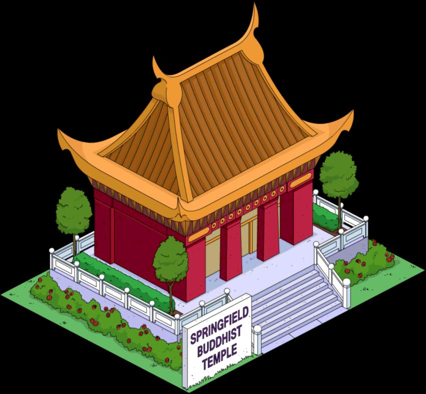 Springfield buddhist temple pinterest. Japanese clipart shrine japanese