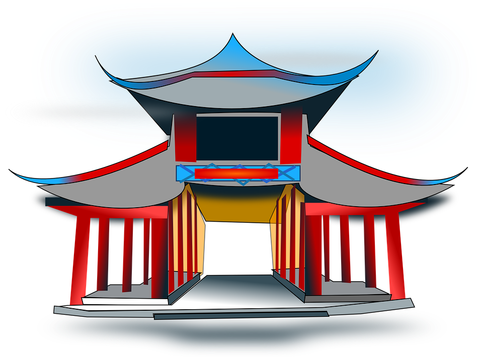 Palace clipart oriental. Free photo architecture temple