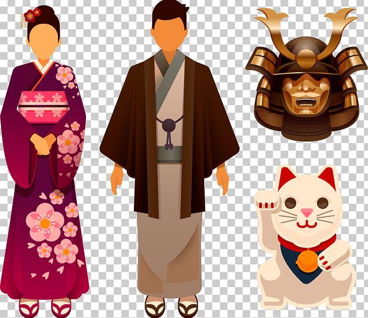 Kimono png cartoon . Japan clipart tradition japan