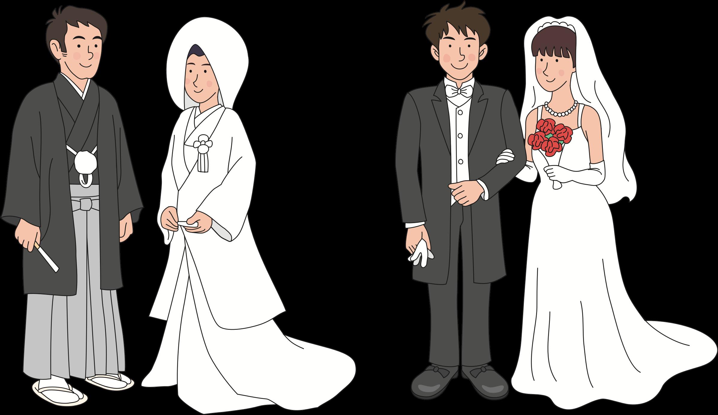 Japanese wedding big image. Japan clipart tradition japan