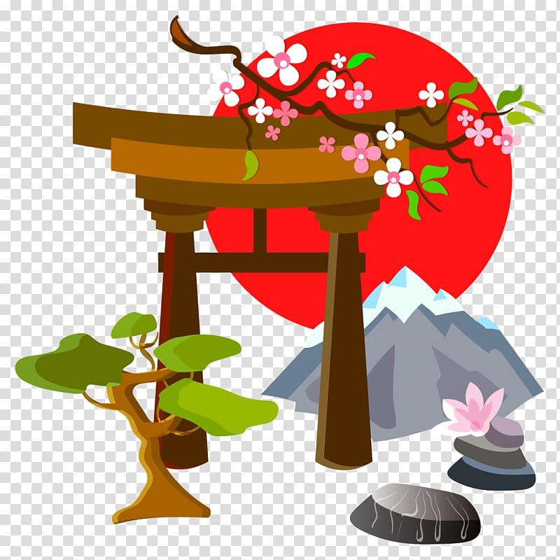 Japan clipart tradition japan. Illustration japanese culture