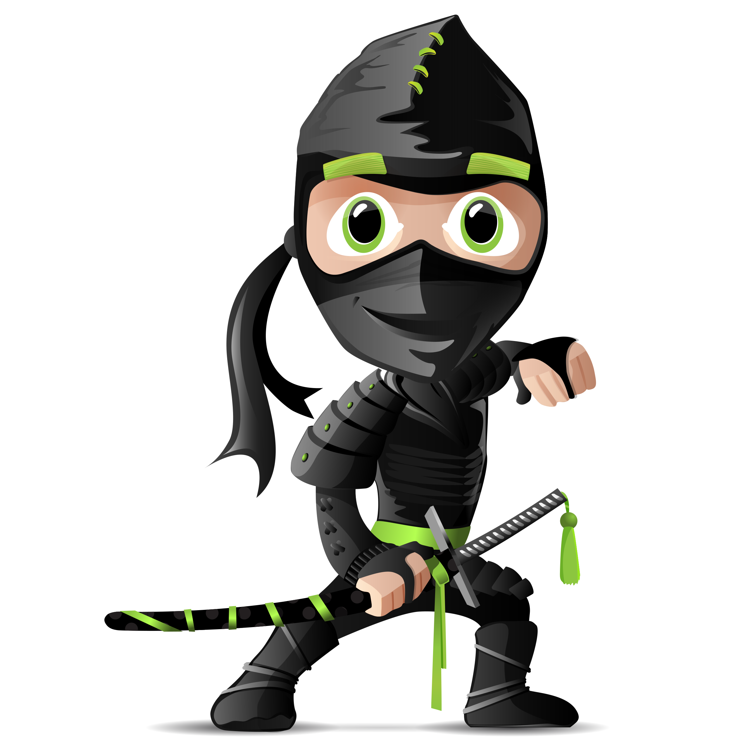 Japanese clipart character. Ninja cartoon clip art