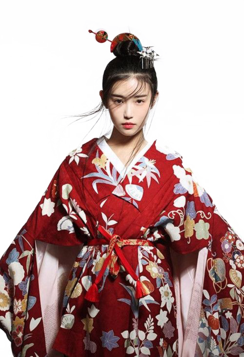 Japanese clipart clothes japanese. Girl png by abagil