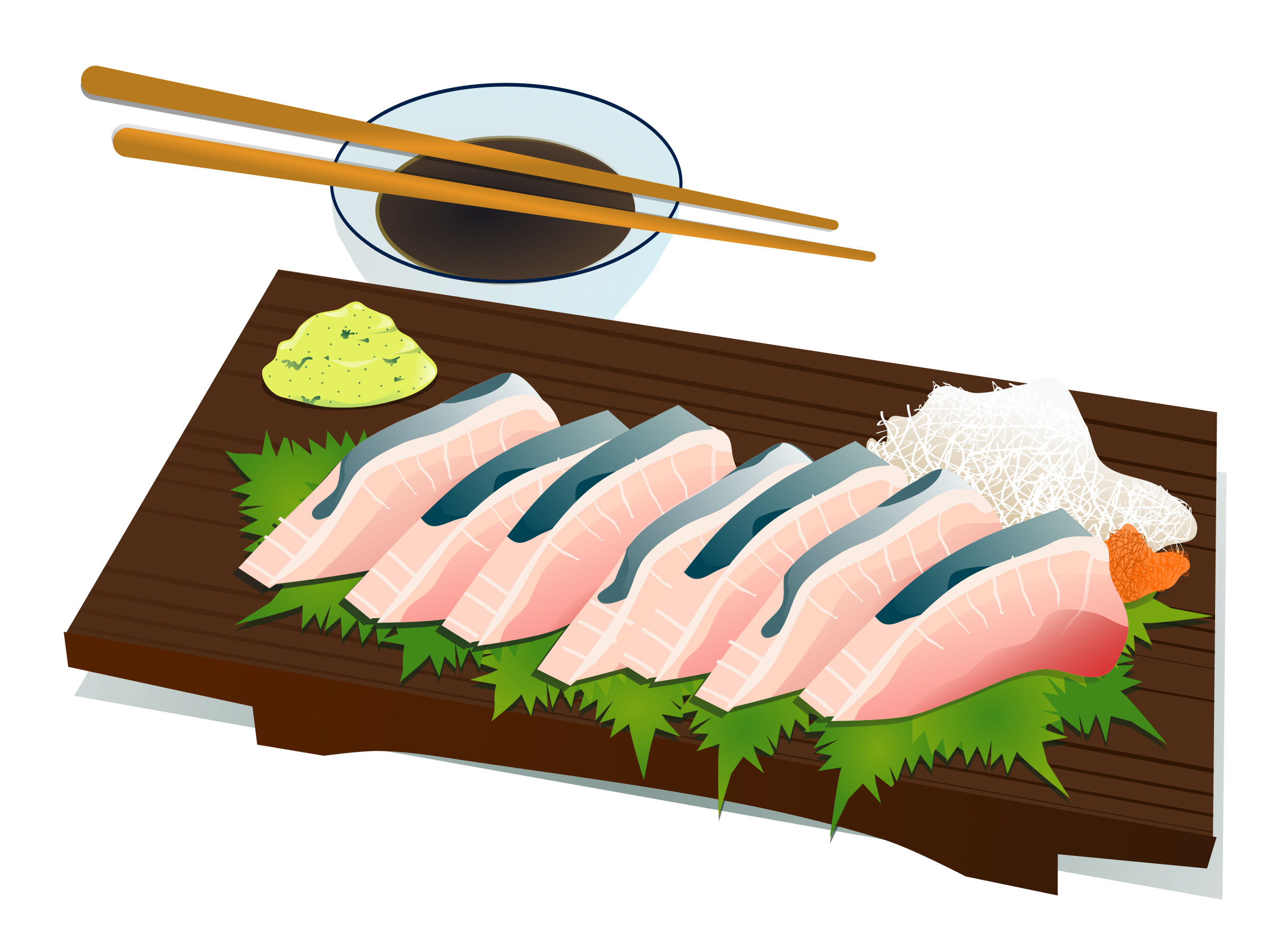 Sashimi big image png. Japanese clipart culture japanese
