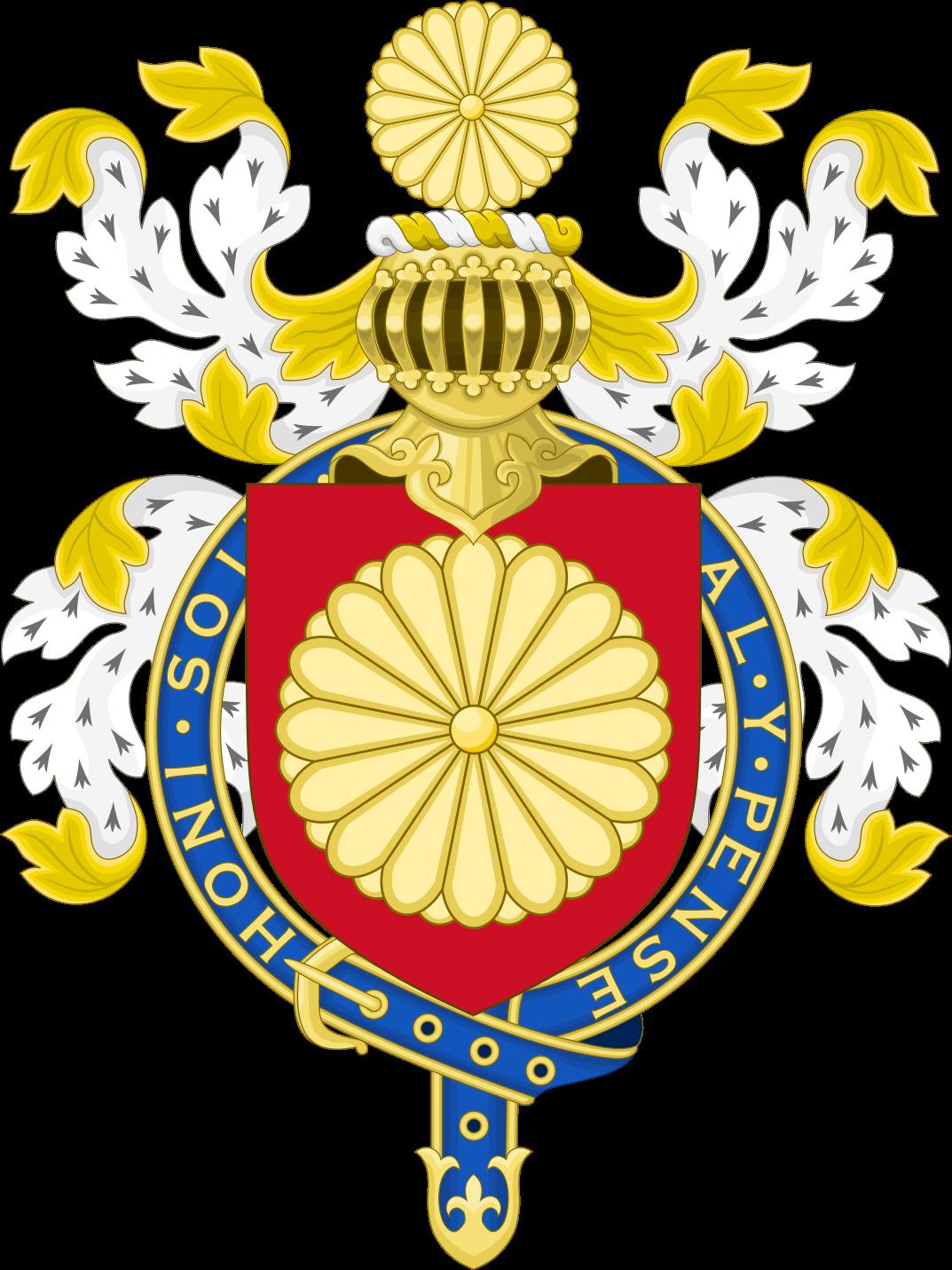 Escudos heraldicos pinterest. Japanese clipart emperor japan