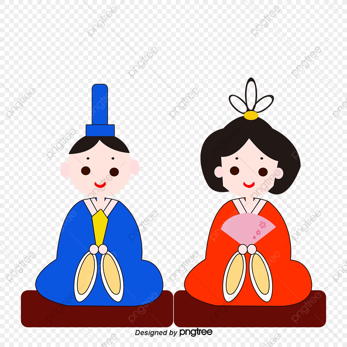 Japanese clipart japanese traditional. Men and womens sitting