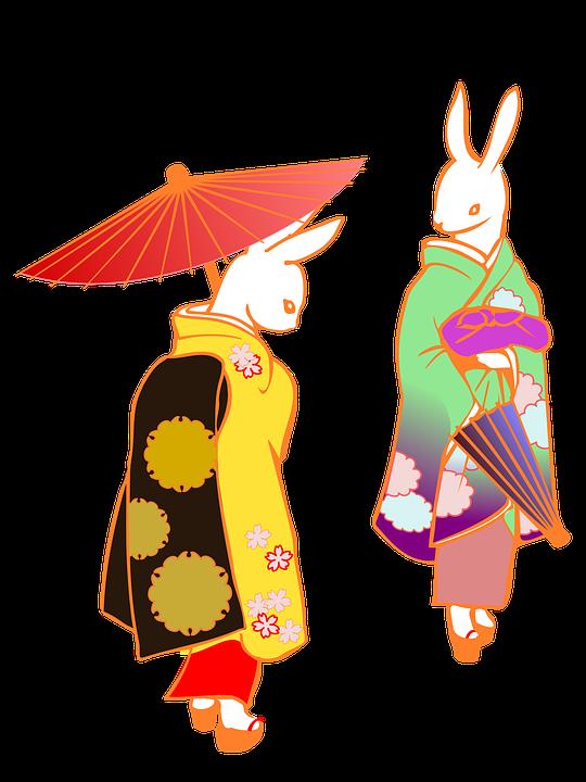 Japan kimono free on. Japanese clipart royalty