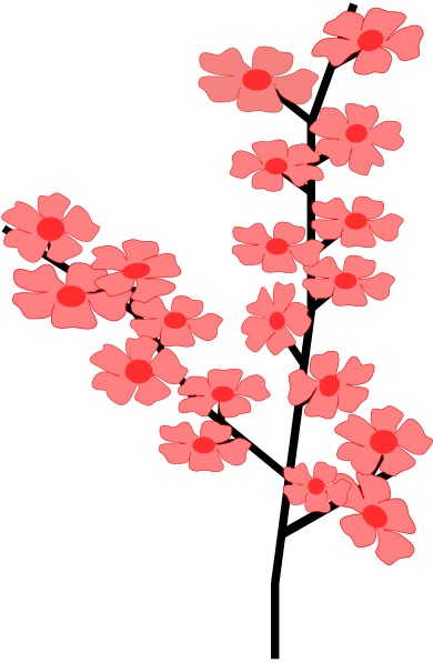 Japanese flower png. Clipart