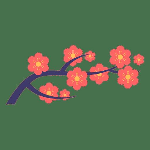 Ornament transparent svg vector. Japanese flower png