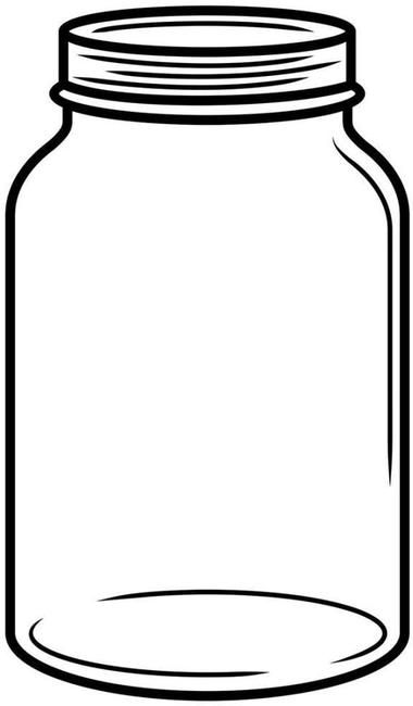 collection of mason. Jar clipart