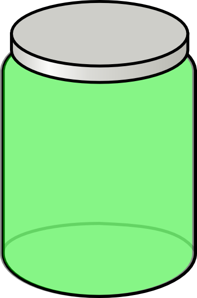Image of mason clip. Jar clipart