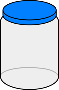 Jar clipart. Empty