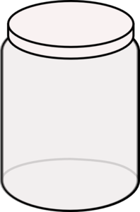 Plain dream clip art. Jar clipart