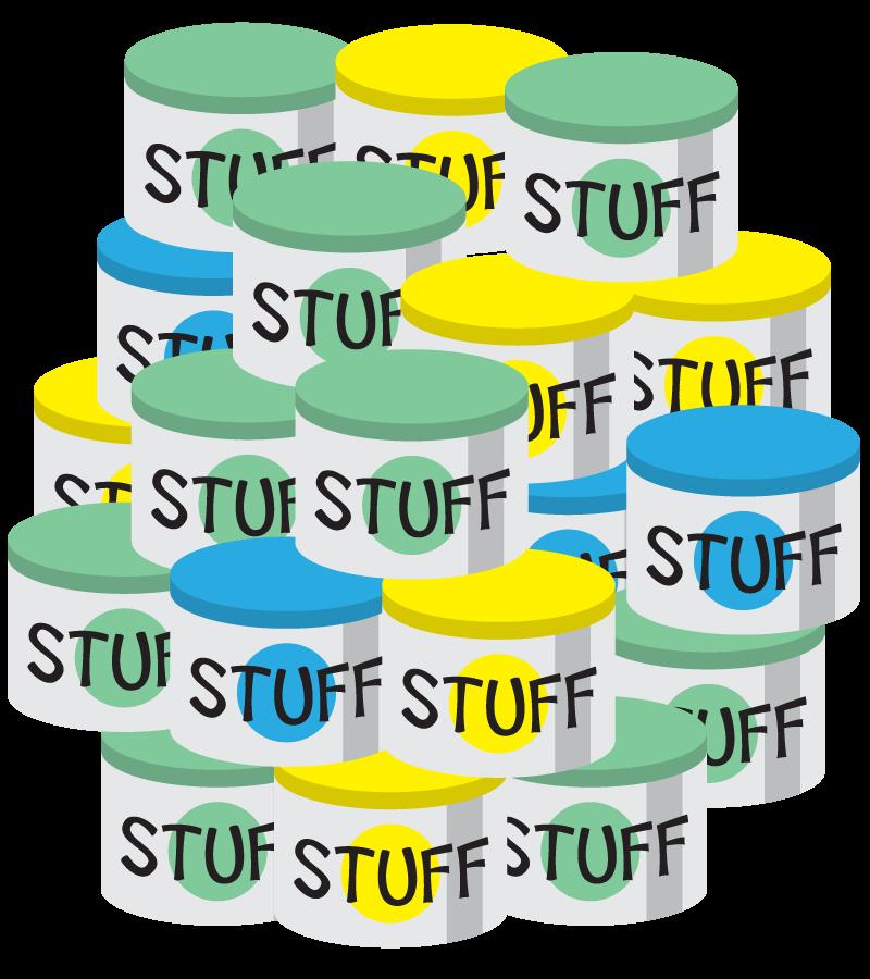 Jar clipart calming. Reducing stuff and money