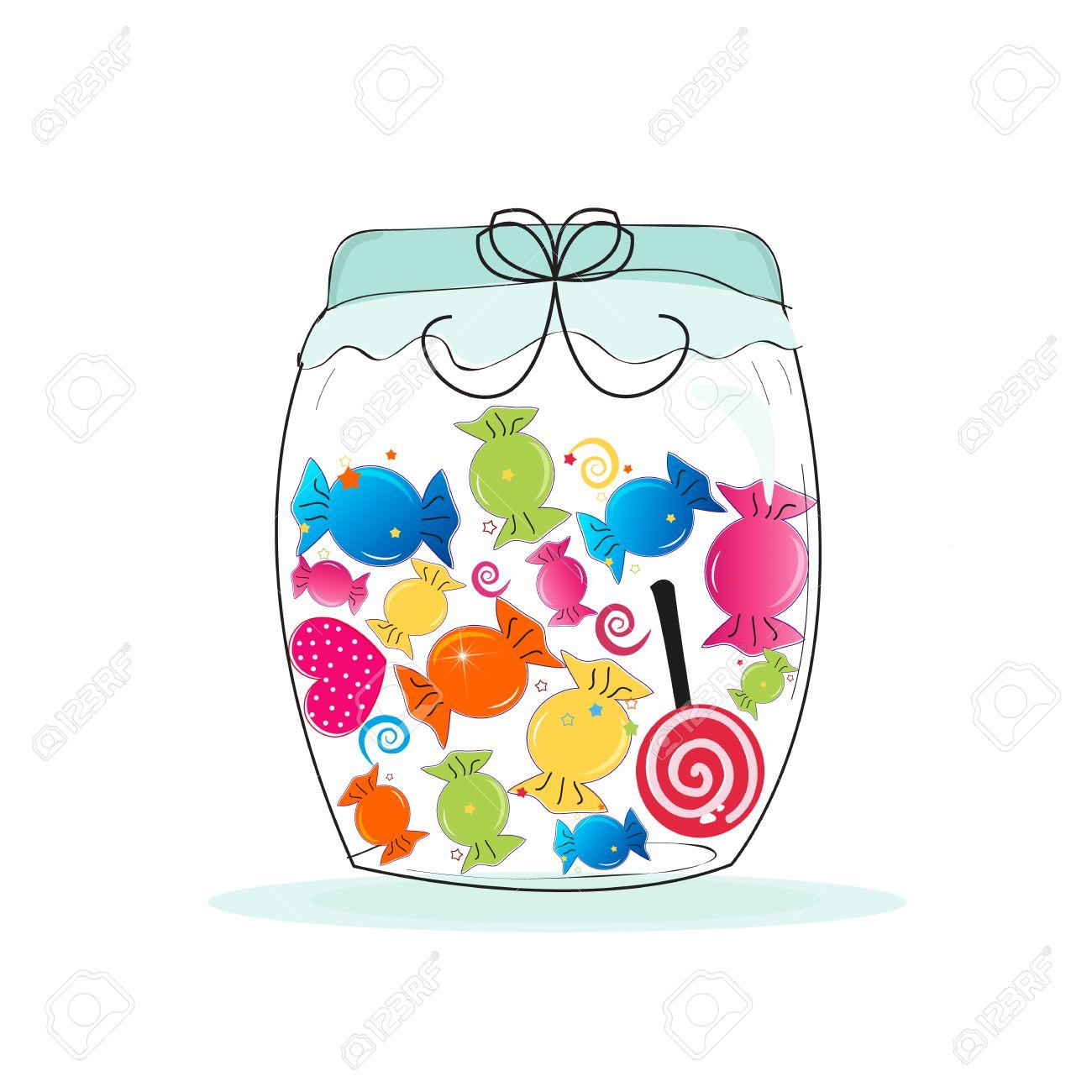Jar clipart candy jar. Station